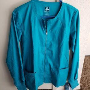Adar scrub jacket size xs